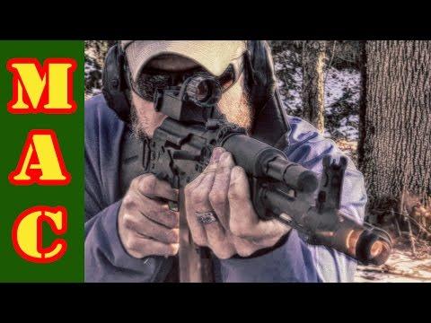 Russian Kobra Sight on an AK103K