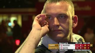 Darts World Masters 2016 Last 16 Waites vs McGeeney