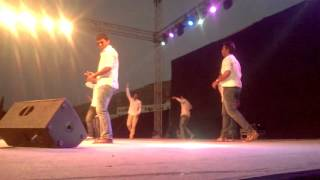 The best Musical drama +dance in College fest