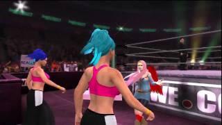 WWE '12 - Royal Family Of Strife Trio Entrance