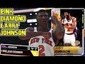 Download Video Download PINK DIAMOND LARRY JOHNSON 49PT GAMEPLAY! GRANDMAMA TAKES THE MYTEAM STREETS! NBA 2k19 MyTEAM 3GP MP4 FLV