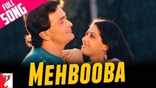 Mehbooba - Full Song   Chandni   Rishi Kapoor   Sridevi