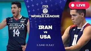 Iran v USA - Group 1: 2017 FIVB Volleyball World League