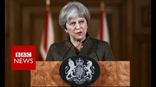 Theresa May: Syria strikes