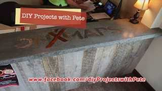 How to Embed a Metal Logo in Concrete