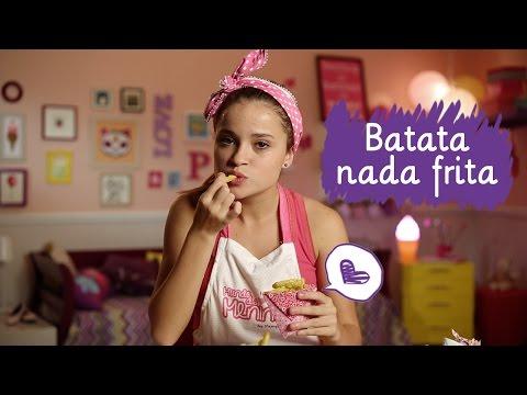 Batata nada frita com Rayssa Chaddad ❤ Mundo da Menina