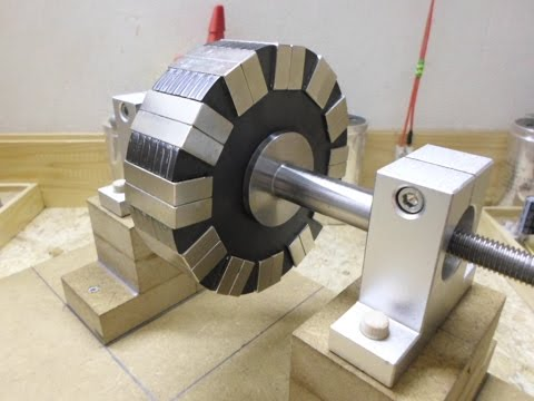 24 Magnets 12 Pole Rotor Two configurations One Negative and One Positive
