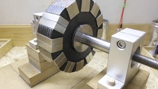 24 Magnets_12 Pole Rotor - Two configurations, One Negative and One Positive...