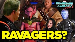 Guardians of Galaxy Vol. 2 - WHO ARE THE RAVAGERS? (Post-Credit Explained)