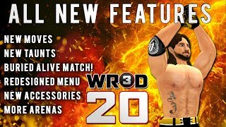 WR3D 20 by HHH- ALL New Features Part 2