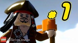 LEGO Pirati dei Caraibi Gameplay ITA Walkthrough #1 - Port Royal - La Maledizione della Prima Luna