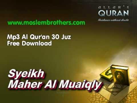 Download Complete Mp3 Al Qur'an 30 Juz - Syeikh  Maher Al Muaiqly free
