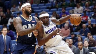 Zach Randolph 35 Pts vs DeMarcus Cousins 38 Pts! Kings vs Pelicans 2017-18 Season