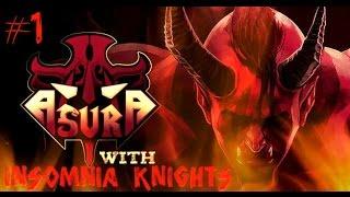 Let's Play Asura - Part 1 - Hating Pots More Than Kratos? Hack 'n' Slash Procedural Rogue-like.
