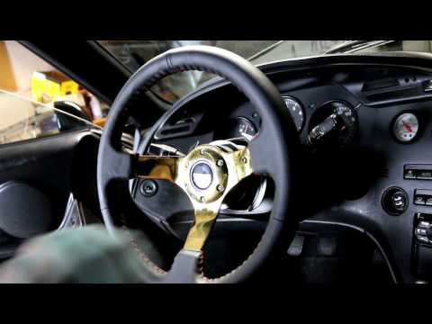 How To Install a Quick Release Steering Wheel and Steering Wheel Hub on a Supra!
