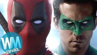 ¡Top 10 Actores con papeles en Marvel y DC!