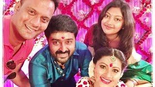 Sneha's Baby Shower Function   Prasanna at Seemantham Function   Hot Tamil Cinema News