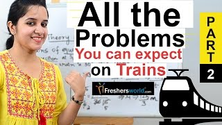 Aptitude Made Easy - Speed, Distance and Time - Problems on Trains Part-2, Math tricks