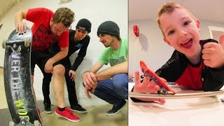 ADIML 60: BIZARRE SKATE INJURY! Fingerboard & Karate!