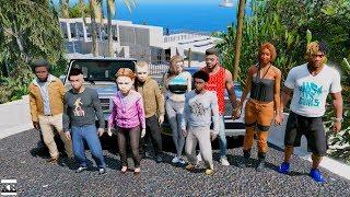 GTA 5 REAL LIFE MOD SS3 #12 FAMILY ROAD TRIP