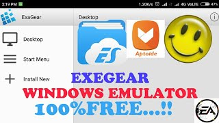 Install EXAGEAR WINDOWS EMULATOR for FREE without LICENSE VERIFICATION