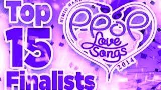 HIMIG HANDOG P-POP LOVE SONGS 2014 Entries, Winners & Awardees
