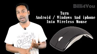 Turn Your Phone Into A Wireless Mouse & Keyboard For Your Computer  - Billi4You