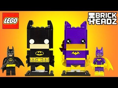 LEGO BrickHeadz Batman Le Film Batman Batgirl Jouet Toy Review Speedbuild 41585 41586
