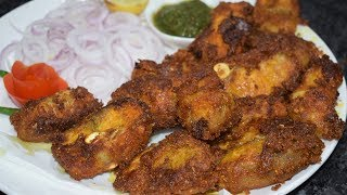 Fish Fry Restaurant Style   Home made Fish Fry Recipe   Delicious and Spicy Fish Fry Recipe
