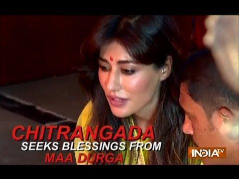 Xxx Mp4 Actress Chitrangada Singh Celebrates Durga Ashtami 3gp Sex