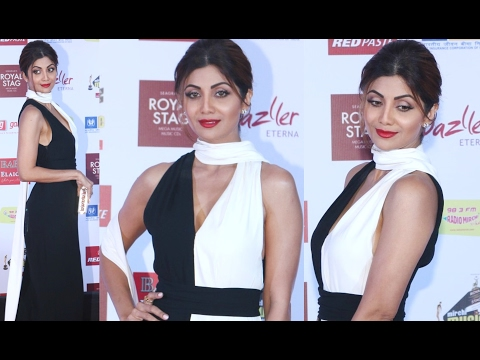 Mirchi Music Awards 2017 Shilpa Shetty HOT In Slip Dress