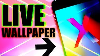 IPHONE X LIVE WALLPAPER DOWNLOAD FOR ALL IOS DEVICES / GET ALL IPHONE X LIVE WALLPAPER DOWNLOAD FREE