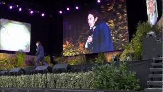 Laughs in the Park July 2011 part 1 Intro and Ross Noble.wmv