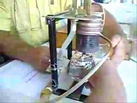 maquininha de bombear agua