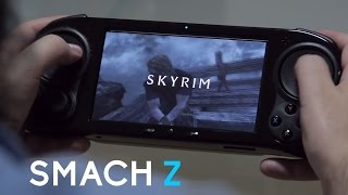 Smach Z:  The First Handheld Gaming PC!