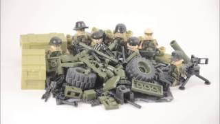 LEGO Knockoffs Modern Military Minifigs D168 (Showcase)