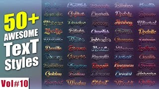 50 Awesome Styles For Photoshop Download Free Vol#10 [desimesikho] 2018