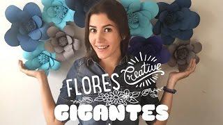Como hacer flores de papel !!!