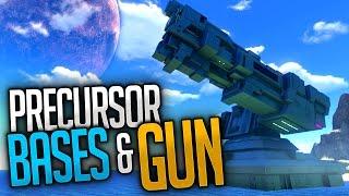 Subnautica - PRECURSOR BASES & PRECURSOR GUN | Subnautica Early Access Gameplay