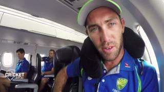 Take flight with the Australian Cricket Team