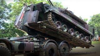 BEGINILAH, Proses Tank Naik Turun Truk Opleger