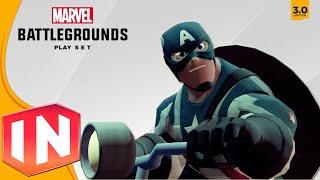 Disney Infinity 3.0 - ALL Character Intros In Marvel Battlegrounds Showcase