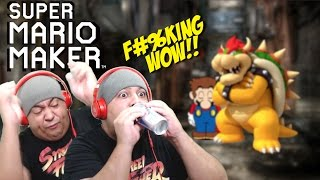 I DID THE F#%KING IMPOSSIBLE!! [SUPER MARIO MAKER] [#74]
