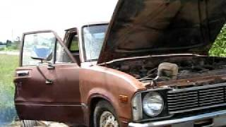 $100 toyota diesel 2nd start and idle.