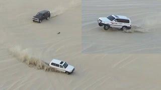 تطعيس في العديد 21/10/2016  - Dune Bashing in Qatar