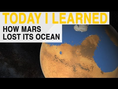 watch TIL: Why Mars's Ocean Disappeared | Today I Learned