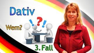 """Deutsch lernen #1 - Dativ (Das Fragewort """"Wem"""")"""
