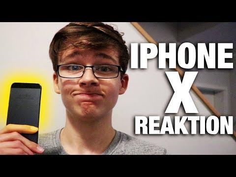 Meine REAKTION auf das Iphone X!