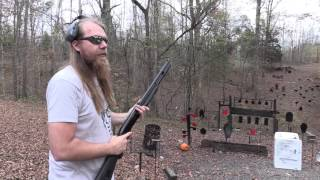 How to handle a hard kicking shotgun or rifle