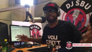 WATCH VIDEO: DJ Sbu blasts Charlamagne Tha God for being ignorant about Cassper Nyovest